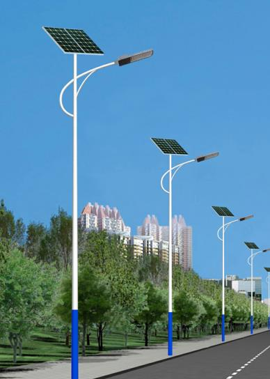 5米6米太阳能路灯